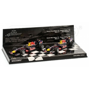 Red Bull Racing  RB6 2-er Set  2010