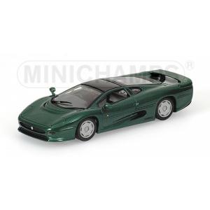 Jaguar XJ220 grün met 1991