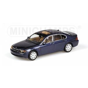 BMW 7er blau met 2001