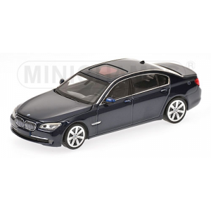 BMW 7 blau met 2008