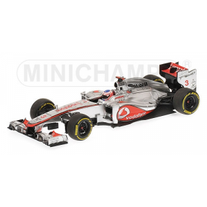 McLaren Mercedes MP4/27 J.Button 2012