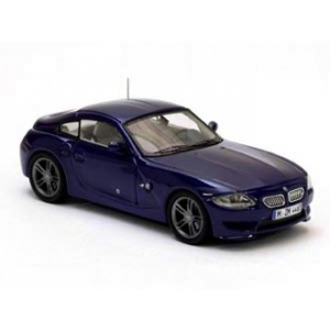 BMW Z4 Coupé blau met 2009
