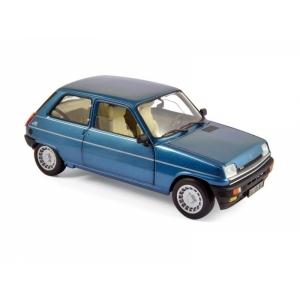 Renault 5 Alpine Turbo blau met