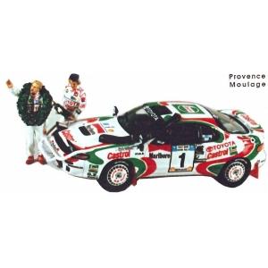 Toyota Celica  Safari Rally mit Pilot