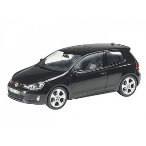 VW Golf GTi schwarz met 2009
