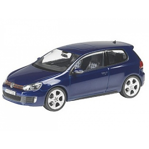 VW Golf GTi shadow blue met 2009