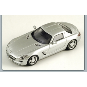 Mercedes SLS silber met