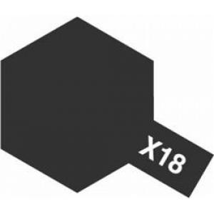 Farbe Schwarz seidenglanz X-18