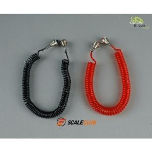 Druckluft Kabelsatz rot/schwarz