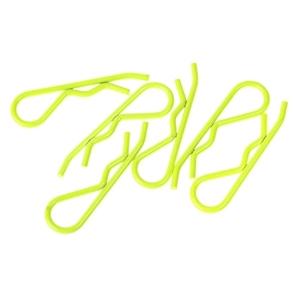 Karrosserieklammern gelb 1:8 10stk.