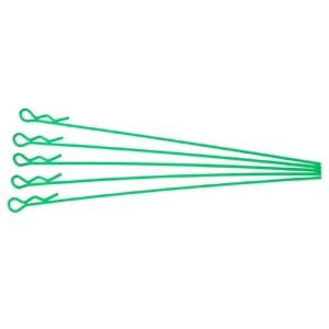 Karrosserieklammern lang grün 5 stk.