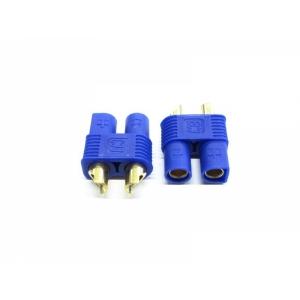 Goldkontakt 3.5 mm blau EC3 Accu 2 paar