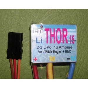 Fahrtenregler CTI Thor 15 Li