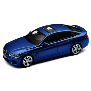 BMW 4er Gran Coupé estoril blau II met