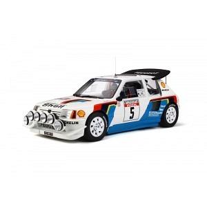 Peugeot 205 T16 Nr.5 Rallye Tour de Corse 1986