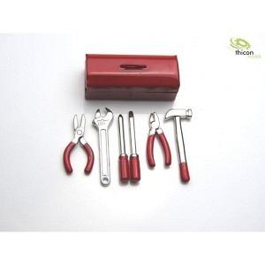 Werzeugkasten Metall mit Werkzeug
