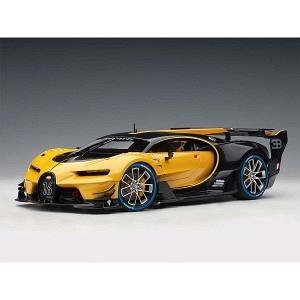 Bugatti Vision Gran Turismo gelb/schwarz