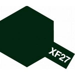 Farbe Schwarzgrün matt XF-27
