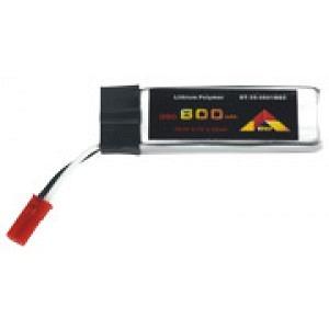 Lipo 3.7 V 600 mAh 35C BEC