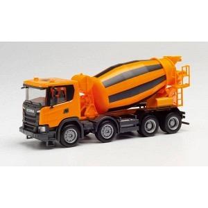 Scania CG 17 Betonmischer 4 Achser