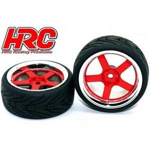 Reifen mit Chrom Felgen 26mm