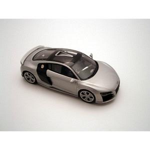 Audi R8 DTi silber met 2009