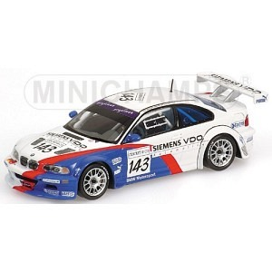 BMW M3 GTR Nr.143 24h Spa 2004