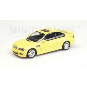 BMW M3 Coupé gelb 2000