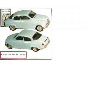 Saab 96 Saloon 1962