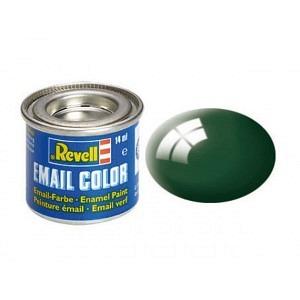 Farbe Moosgrün glänzend