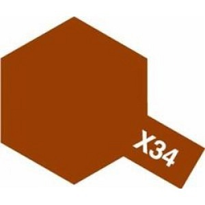 Farbe Braun met X-34