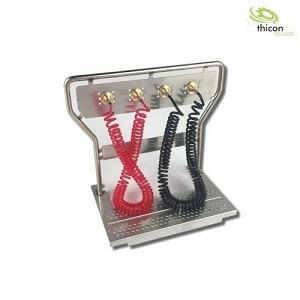Druckluft Geräteträger mit Leitungen