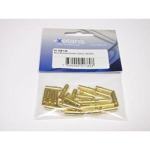 Goldkontakte Büchse einzel 3.5mm 25 stk.