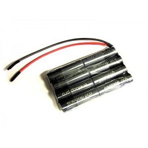 Accupack AA4x2 9.6V Eneloop schwarz